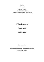 L Ethique Dans Et Pour L Enseignement Superieur Unesco Digital