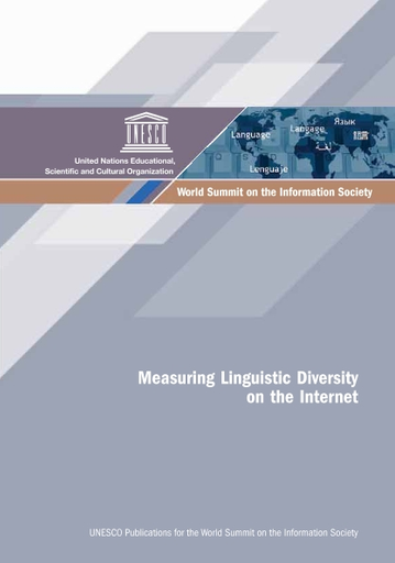 Measuring Linguistic Diversity On The Internet Unesco Digital Library