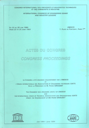 Congress Proceedings Unesco Digital Library