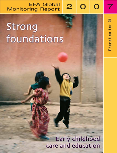 Strong Foundations Early Childhood Care And Educationefa Global