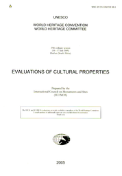 Evaluations Of Cultural Properties Unesco Digital Library
