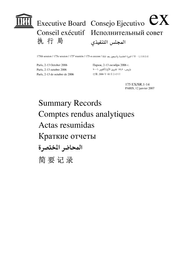Summary Records Of The 175th Session Of The Executive Board