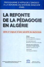 La Refonte De La Pédagogie En Algérie Défis Et Enjeux Dune