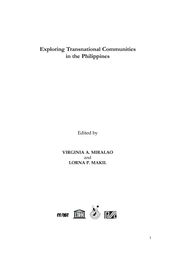 Exploring transnational communities in the Philippines