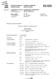 Election Of Members Of The Executive Board Curriculum Vitae Mr