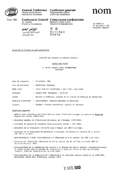 Election Des Membres Du Conseil Executif Curriculum Vitae M