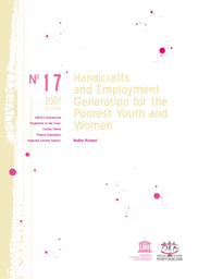 Handicrafts and employment generation for the poorest youth
