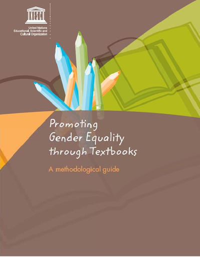 Promoting gender equality through textbooks: a