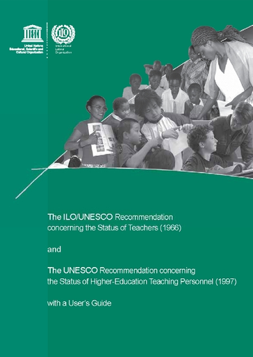 The ILO/UNESCO Recommendation concerning the Status of