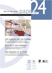 Lart Rupestre Dans Les Caraïbes Vers Une Inscription