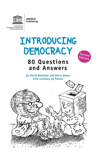 Introducing democracy: 80 questions and answers - UNESCO