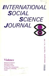 Mass munication symptom or cause of violence UNESCO