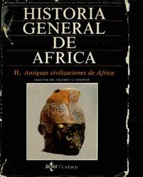 Historia General De Africa Ii Antiguas Civilizaciones De