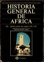 Historia general de África III