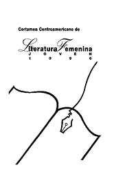Certamen Centroamericano De Literatura Feminina Joven 1996