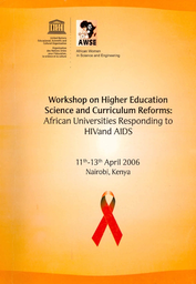 Workshop report on higher education science and curricular