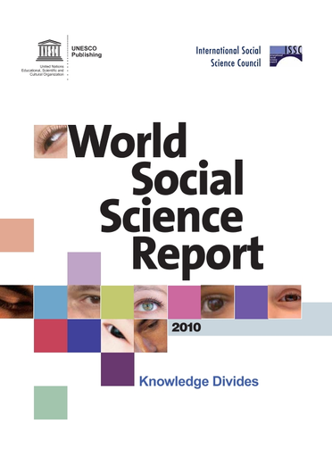 World Social Science Report 2010 Knowledge Divides Unesco Digital Library