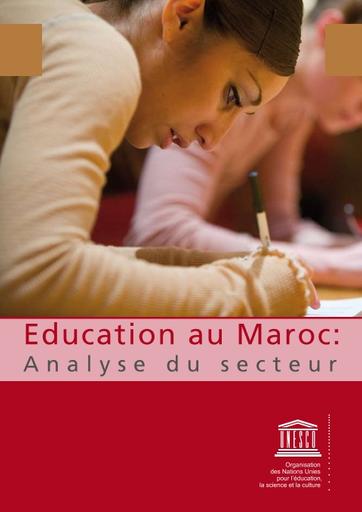 Education Au Maroc Analyse Du Secteur Unesco Digital Library