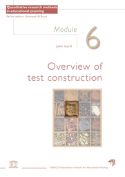 Overview of test construction: Module 6 - UNESCO Digital Library