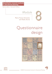 Questionnaire design: Module 8 - UNESCO Digital Library