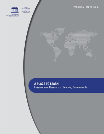A Place To Learn Lessons From Research On Learning Environments Unesco Digital Library