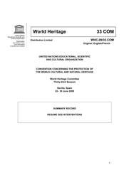 Summary Record Unesco Digital Library