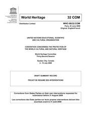 Draft Summary Record Unesco Digital Library