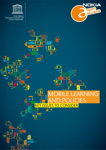 Mobile Learning And Policies Key Issues To Consider Unesco Digital Library