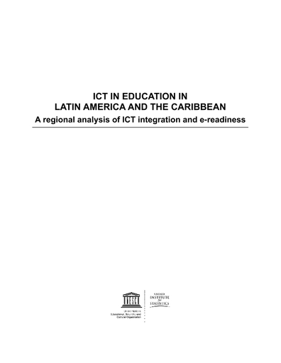 ICT in education in Latin America and the Caribbean: a regional ...