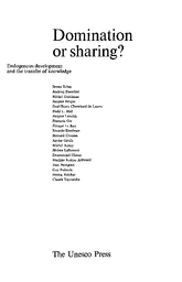 Domination Or Sharing Endogenous Development And The