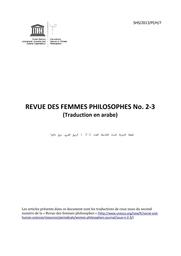 Considerations Autour D Un Debat De Societe Quel Feminisme Pour