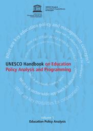 unesco handbook on education policy analysis and programming volume