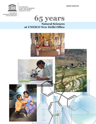 65 years: natural sciences at UNESCO New Delhi Office