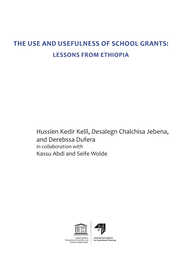 The Use and usefulness of school grants: lessons from