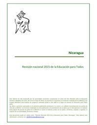 Revisión De Nicaragua De La Ept Al 2015 Evaluación Del Plan