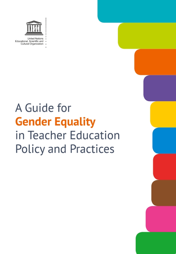 A Guide for gender equality in teacher education policy and