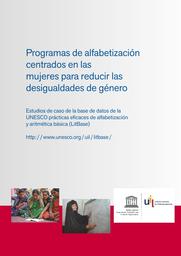Programas De Alfabetización Centrados En Las Mujeres Para