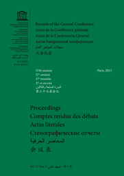 Records Of The General Conference 37th Session Paris V 2 Proceedings Unesco Digital Library