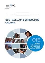 Qué Hace A Un Currículo De Calidad Unesco Digital Library