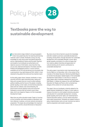 Textbooks pave the way to sustainable development - UNESCO Digital