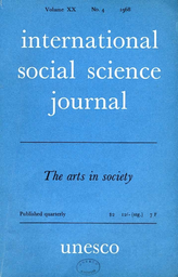 Introduction A Definition Of The Sociology Of Art Unesco