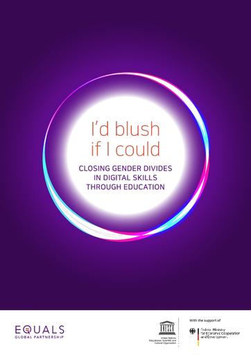 I d blush if I could closing gender divides in digital