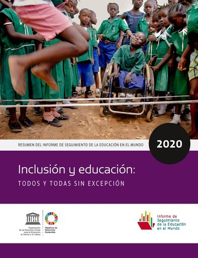 Inclusión y educación 2020