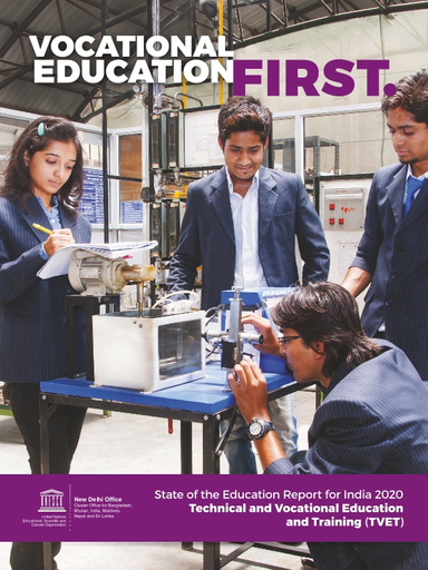 Vocational education first: state of the education report for ...