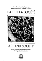 Art and society: topical questions; the new technologies