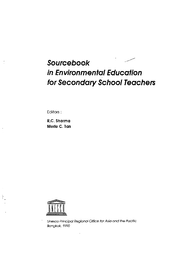 Sourcebook in environmental education for secondary school